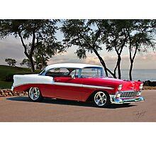 1956 Chevrolet Bel Air Hardtop II Photographic Print