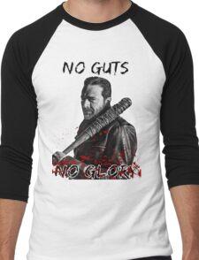 The Walking Dead Negan - No Guts No Glory Men's Baseball ¾ T-Shirt