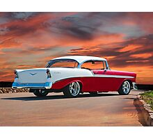1956 Chevrolet Bel Air Hardtop I Photographic Print