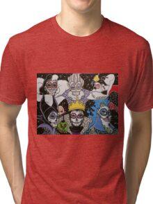 Sugar Skull Villains Tri-blend T-Shirt