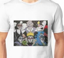 Sugar Skull Villains Unisex T-Shirt