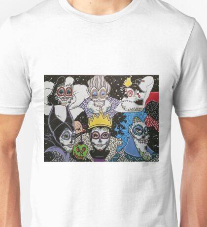 Sugar Skull Villains Unisex T-Shirt