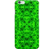 """Spirit of India: Blossom"" in emerald green iPhone Case/Skin"
