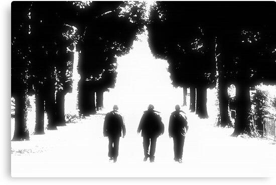 Three Is Company by Benedikt Amrhein
