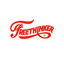 FreeThinker Vintage by Tai's Tees Photographic Print