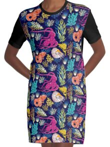 Cephalopods Robe t-shirt