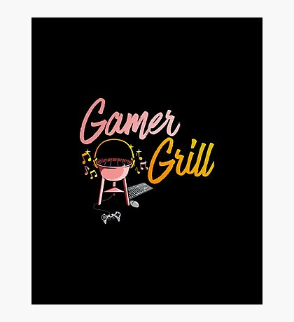 Gamer Grill Photographic Print