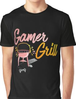 Gamer Grill Graphic T-Shirt
