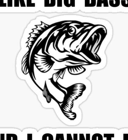 Big Bass Sticker