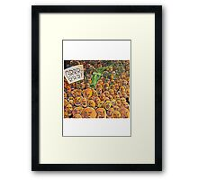 Abstract art print, cartoon paintings for sale Framed Print