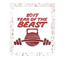 2017 Year of the Beast Photographic Print