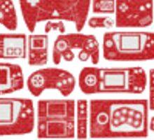 Retro Gaming Mushroom Sticker