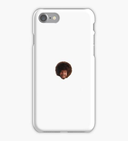 Bob Ross Head 'fro iPhone Case/Skin