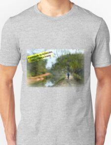 No Fixed Plans Travel Quote Collection  T-Shirt