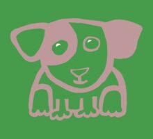 Cute puppy 1 - light One Piece - Short Sleeve