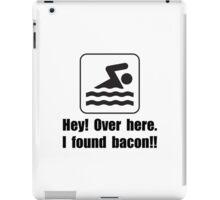 Found Bacon iPad Case/Skin