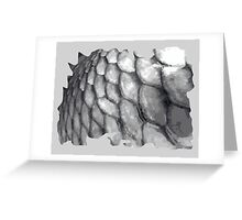 Fish scale, fishing scale design Greeting Card