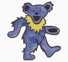 Dancing Bear Watercolor Kids Clothes