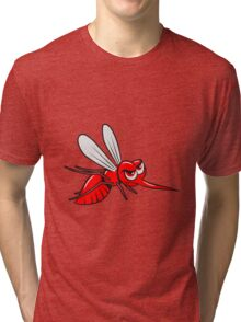 Mücke mosquito witzig insekt  Tri-blend T-Shirt