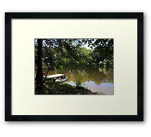 Un petit morceau de Paradis / A Little Piece of Paradise Framed Print