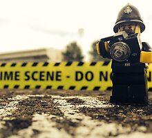 Lego Police Crime Scene by Hyperbolego