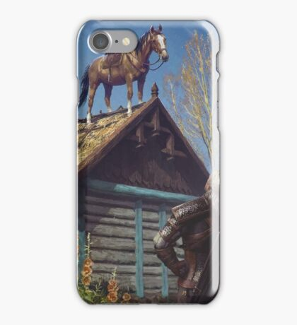 The Witcher - Roach iPhone Case/Skin
