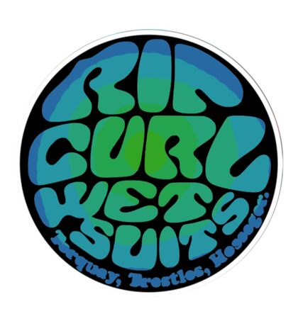 ripcurl wetsuits logo  Sticker