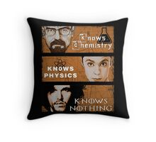Personal Qualities Throw Pillow