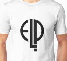 Emerson Lake and Palmer - ELP Logo  Unisex T-Shirt