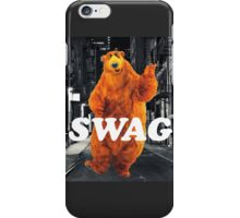 Bear in the hoodSwag iPhone Case/Skin