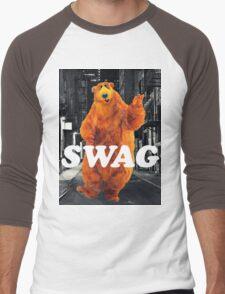 Bear in the hoodSwag Men's Baseball ¾ T-Shirt