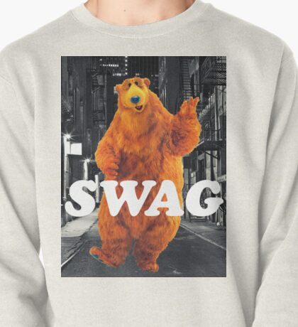 Bear in the hoodSwag Pullover