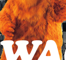 Bear in the hoodSwag Sticker
