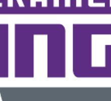 Sacramento Kings. Sticker