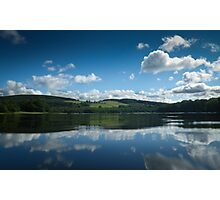My outdoor pool in SW Scotland Photographic Print