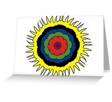 Southern Flower Greeting Card