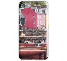 Tobermory harbour view iPhone Case/Skin