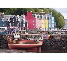Tobermory harbour view Photographic Print