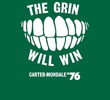 The Grin Will Win - Vote Carter in '76 T-Shirt