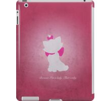 Aristocats inspired design (Marie). iPad Case/Skin