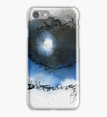 Blue eye iPhone Case/Skin