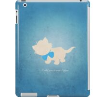 Aristocats inspired design (Toulouse). iPad Case/Skin