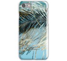 Sky Blue Feather iPhone Case/Skin
