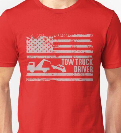 American Tow Truck Driver  Unisex T-Shirt
