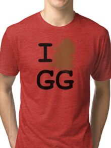 I Shit GG Allin Tri-blend T-Shirt