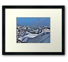 Mont Blanc. Framed Print
