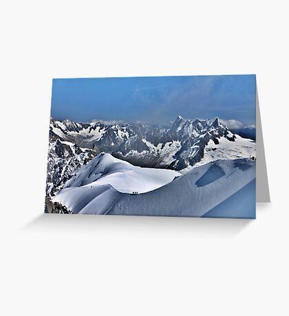 Mont Blanc. Greeting Card