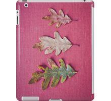 Three Leaves iPad Case/Skin