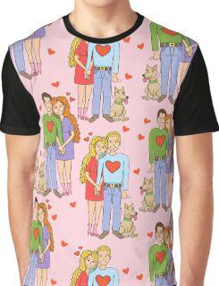 Happy couple Graphic T-Shirt