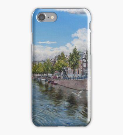 Amsterdam zeven bruggen iPhone Case/Skin
